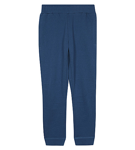 STELLA MCCARTNEY Byrne organic cotton jogging bottoms 4-16 years (Teal