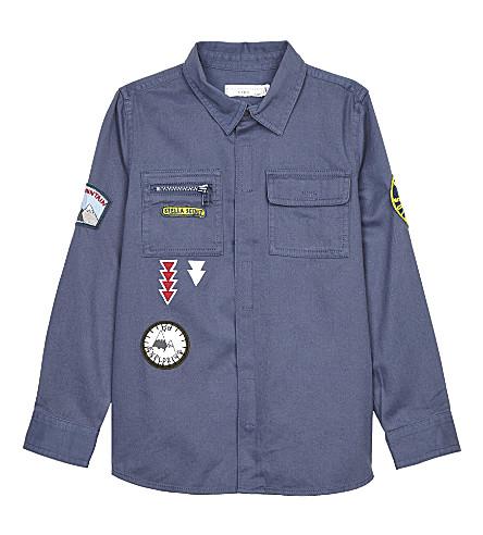 STELLA MCCARTNEY Enzo cotton shirt 4-16 years (Indigo