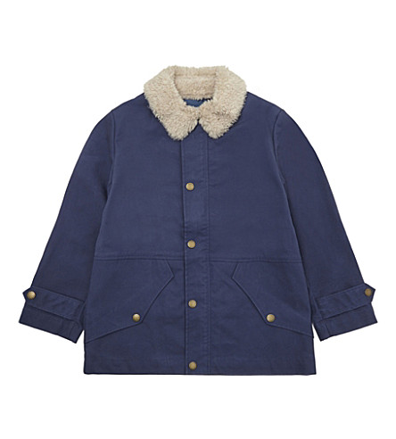 STELLA MCCARTNEY Luke teddy jacket 6-16 years (Indigo