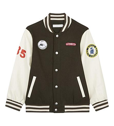 STELLA MCCARTNEY Donald striped jacket 6-16 years (Croc+khaki