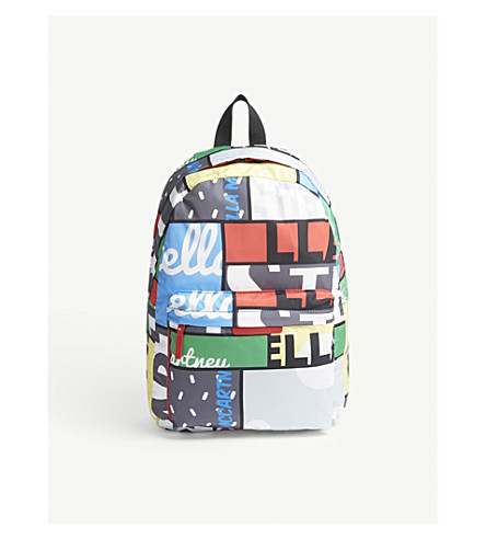 STELLA MCCARTNEY Bang cycling-print backpack (Cycling