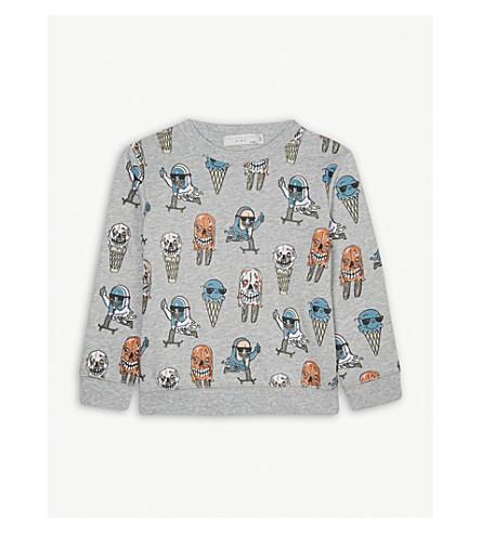 STELLA MCCARTNEY Printed cotton sweatshirt 4-12 years (Icecream