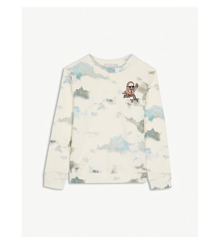 STELLA MCCARTNEY Biz Clouds cotton sweatshirt 4-12 years (Clouds