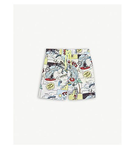 STELLA MCCARTNEY Taylor comic-book print swim shorts 4-16 years (Tourist