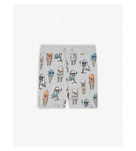 STELLA MCCARTNEY Printed cotton shorts 4-14 years (Icecream