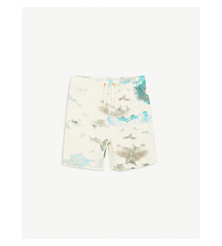 STELLA MCCARTNEY Wiley cloud-print cotton shorts 4-14 years (Clouds