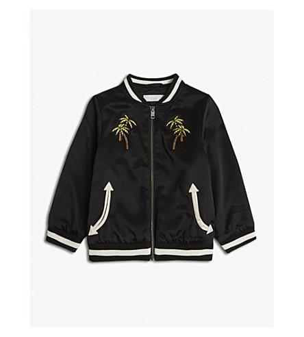 STELLA MCCARTNEY Eastwood bomber jacket 4-16 years (Black