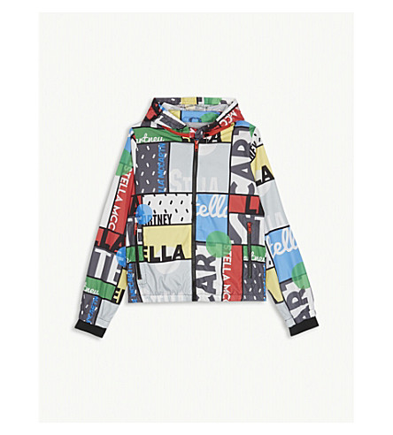 STELLA MCCARTNEY Graphic logo cycling jacket 4-16 years (Cycling
