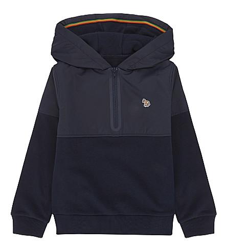 PAUL SMITH JUNIOR Luciano cotton sweatshirt 4-16 years (Navy