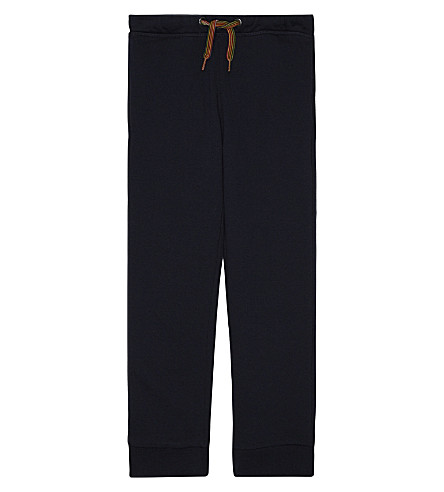 PAUL SMITH JUNIOR Pils cotton tracksuit bottoms 4-16 years (Navy