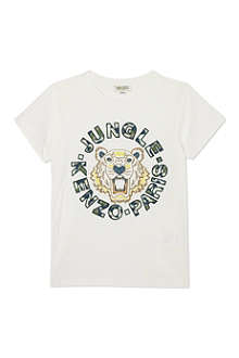 KENZO Jungle tiger tshirt 4-16 years
