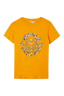 KENZO Jungle tiger t-shirt 4-16 years