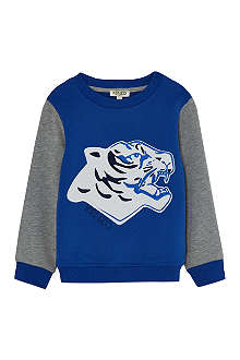 KENZO Tiger wave sweatshirt 4-16 years