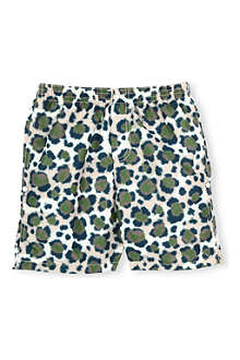 KENZO Camouflage-print swim shorts 4-16 years