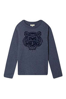 KENZO Tiger motif top 4-16 years