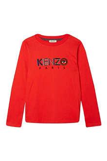 KENZO Core logo sweatshirt 4-16 years