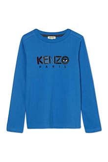 KENZO Core logo sweatshirt 4-14 years