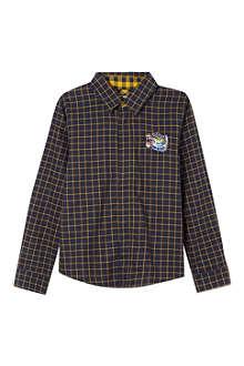 KENZO Tartan tiger shirt 4-16 years