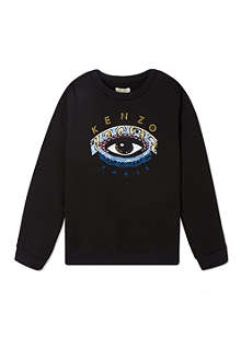 KENZO Eye motif sweatshirt 4-16 years