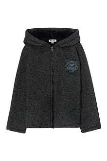 KENZO Knitted zip hoodie 4-16 years