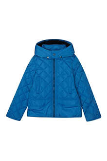 KENZO Quilted tiger motif jacket 4-16 years
