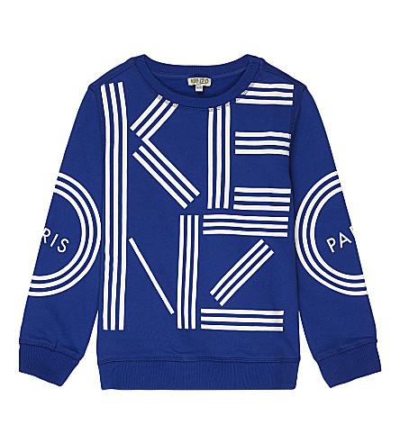 KENZO Logo sweatshirt 4-16 years (Blue