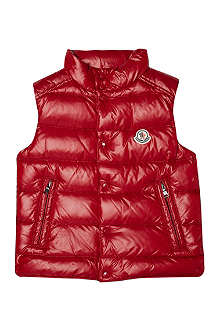 MONCLER Padded gilet 8-14 years