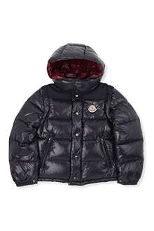 MONCLER Anderson detachable-sleeve jacket 8-14 years