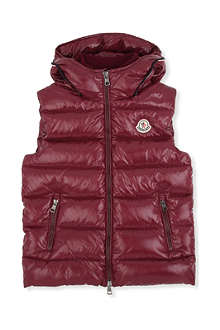 MONCLER Aubry padded down gilet 8-14 years
