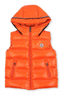 MONCLER Padded down gilet 2-6 years