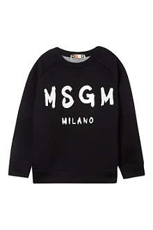 MSGM Scuba logo sweatshirt 4-14 years