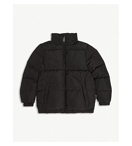 MOSCHINO 意大利标志垫外套 8 岁 (黑色