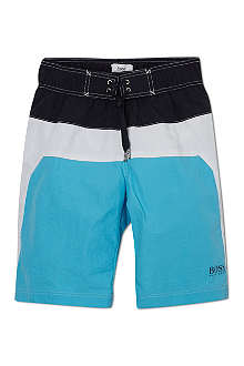 BOSS Colour blocked swim shorts 4-16 years