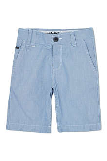 BOSS Fine striped shorts 4-16 years