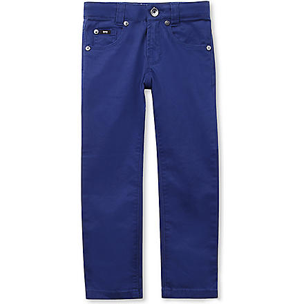 BOSS Five-pocket classic trousers 4-16 years (Navy