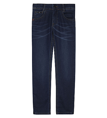 BOSS Stretch denim jeans 4-16 years (Blue