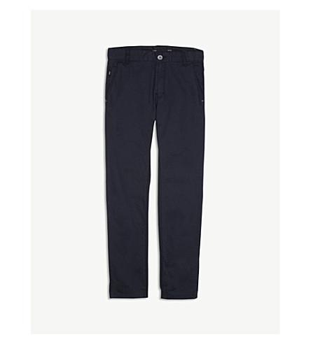 BOSS Chino cotton trousers 4-14 years (Navy