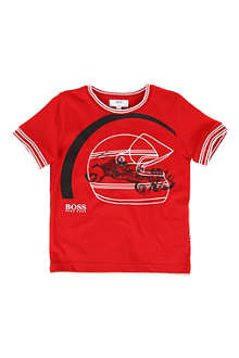 HUGO BOSS Racing car t-shirt 4-16 years