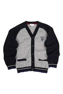 HUGO BOSS Varsity cardigan 4-16 years