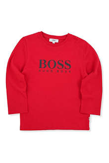 BOSS Long-sleeved logo t-shirt 4-16 years