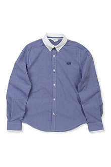 BOSS Contrast collar shirt 4-16 years