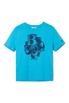 BOSS Scattered logo t-shirt 4-16 years