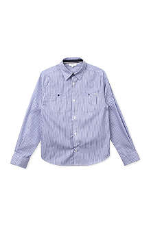 BOSS Fine striped shirt 4-16 years