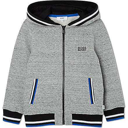 BOSS Classic hooded sweatshirt 4-16 years (Grey