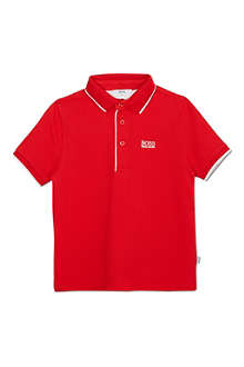 BOSS Colour pop polo shirt 4-14 years