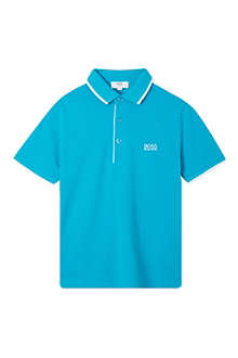 HUGO BOSS Boss embroidered polo 4-16 years