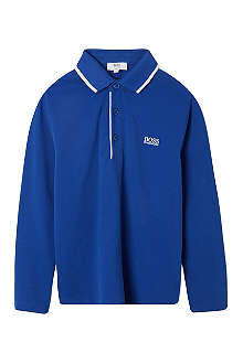 HUGO BOSS Logo embroidered polo 4-16 years