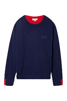 HUGO BOSS Two-tone jumper 4-16 years