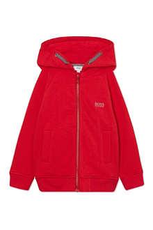 HUGO BOSS Zipped hoody 4-16 years