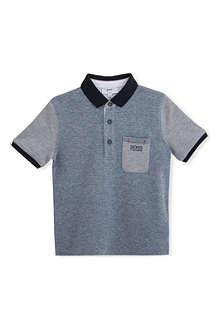 HUGO BOSS Chest pocket polo shirt 4-16 years